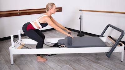Reformer Upper Body with a Posture Focus by Pilates Barre On Demand