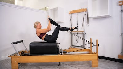 Cardio Interval Reformer by Pilates Barre On Demand
