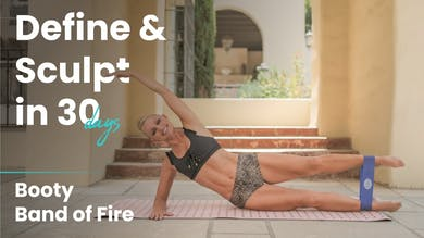 Booty Band of Fire | Define & Sculpt in 30 Days by Pilates Barre On Demand