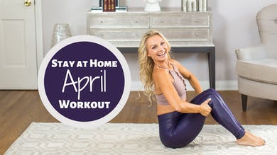 April 2020 Calendar by Pilates Barre On Demand