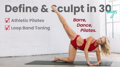 DEFINE & SCULPT in 30 Days | Calendar by Pilates Barre On Demand
