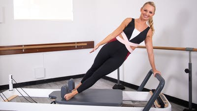 Interval Athletic Circuit Reformer | LIVE by Pilates Barre On Demand