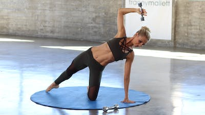 Arms & Abs Mat Barre Fusion by Pilates Barre On Demand