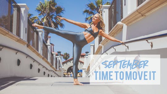 September Monthly Workout Plan by Pilates Barre On Demand