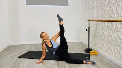 Pilates Flow with Dumbbells by Pilates Barre On Demand