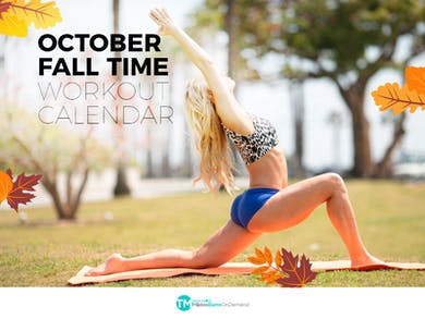 October Fall Fitness by Pilates Barre On Demand