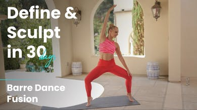 Barre Dance Fusion Sculpt | Define & Sculpt in 30 Days by Pilates Barre On Demand