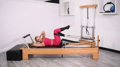 Quick Abdominal Reformer Workout by Pilates Barre On Demand