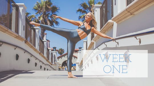 Week One by Pilates Barre On Demand