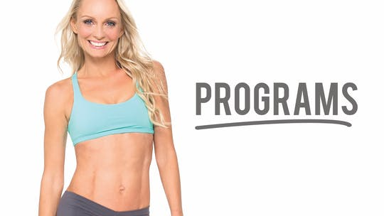 Programs by Pilates Barre On Demand