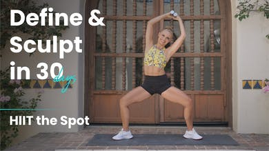 HIIT the SPOT | Define & Sculpt in 30 Days by Pilates Barre On Demand