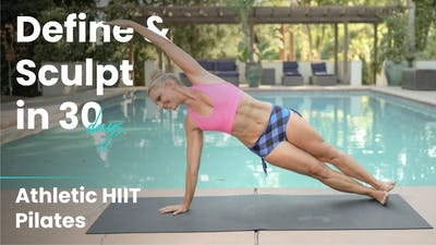 Athletic HIIT Pilates | Define & Sculpt in 30 Days by Pilates Barre On Demand