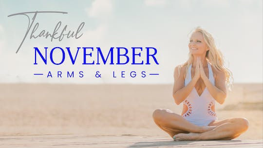 November 2020 Thankful by Pilates Barre On Demand