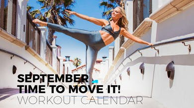 SEPTEMBER TIME TO MOVE IT! by Pilates Barre On Demand