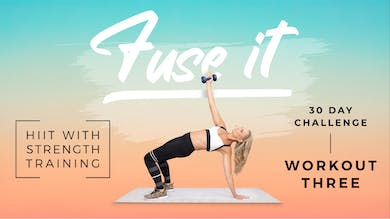 Fuse It - Workout 3 by Pilates Barre On Demand
