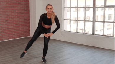 Quick Body Blasts 10 Minutes | Lower Body Standing Tone Up by Pilates Barre On Demand