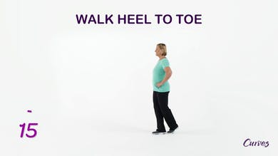 BALANCE: Walk Heel to Toe by MyCurvesOnDemand
