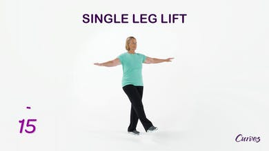 BALANCE: Single Leg Lift by MyCurvesOnDemand