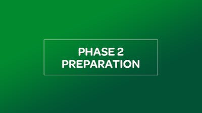 NUTRITION: PHASE 2 PREPARATION by MyCurves On Demand