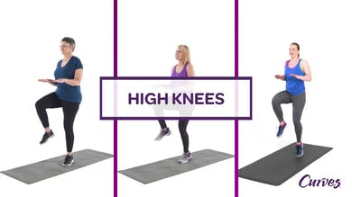 CHALLENGE: HIGH KNEES by MyCurves On Demand