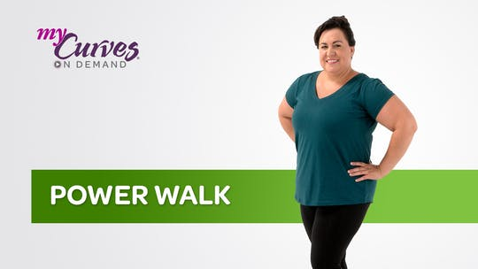 Get access to POWER WALK by MyCurvesOnDemand