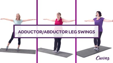 CHALLENGE: ADDUCTOR / ABDUCTOR LEG SWING by MyCurves On Demand