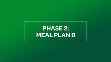 NUTRITION: PHASE 2 MEAL PLAN B by MyCurves On Demand