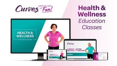 VDOF: HEALTH & WELLNESS EDUCATION CLASSES by MyCurves On Demand