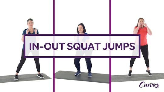 Get access to CHALLENGE: IN / OUT SQUAT JUMPS by MyCurvesOnDemand