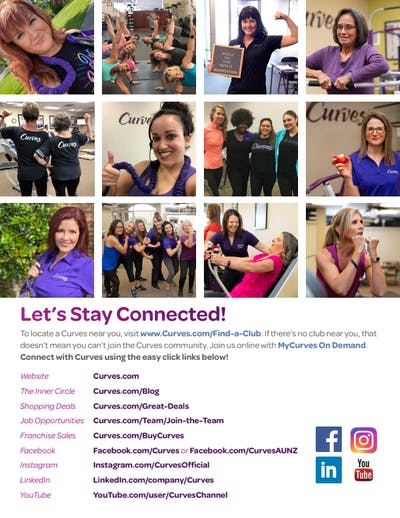 CONNECT WITH US by MyCurves On Demand