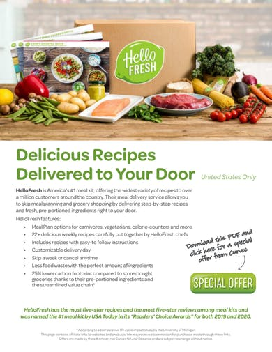 VDOF PRODUCTS: HELLOFRESH SPECIAL OFFER by MyCurves On Demand