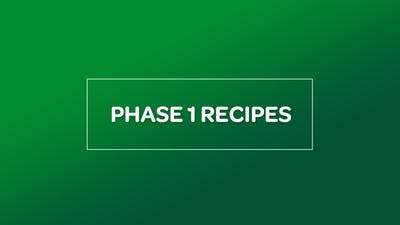 NUTRITION: PHASE 1 RECIPES by MyCurves On Demand