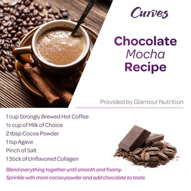 VDOF: CHOCOLATE MOCHA RECIPE CARD by MyCurves On Demand