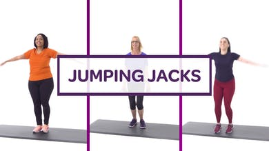 CHALLENGE: JUMPING JACKS by MyCurves On Demand