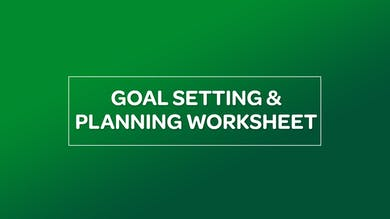 NUTRITION: GOAL SETTING AND PLANNING WORKSHEET by MyCurves On Demand