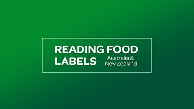 NUTRITION: READING FOOD LABELS [Australia & New Zealand] by MyCurves On Demand