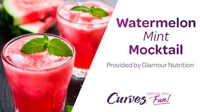 VDOF: WATERMELON MINT MOCKTAIL by MyCurves On Demand