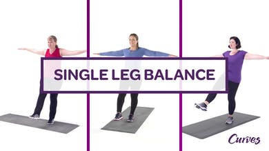 CHALLENGE: SINGLE LEG BALANCE by MyCurves On Demand