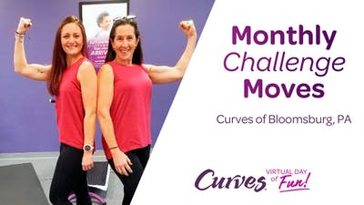 VDOF: MONTHLY CHALLENGE MOVES PA by MyCurves On Demand