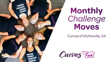 VDOF: MONTHLY CHALLENGE MOVES VA by MyCurves On Demand