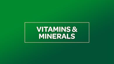 NUTRITION: VITAMINS & MINERALS by MyCurves On Demand