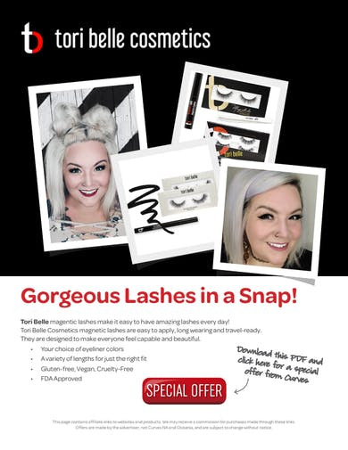 VDOF PRODUCTS: TORI BELLE MAGNETIC LASHES SPECIAL OFFER by MyCurves On Demand