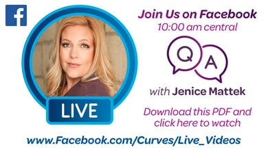 VDOF: FACEBOOK LIVE WITH JENICE MATTEK - Download and Click to View by MyCurves On Demand