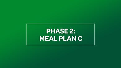 NUTRITION: PHASE 2 MEAL PLAN C by MyCurves On Demand