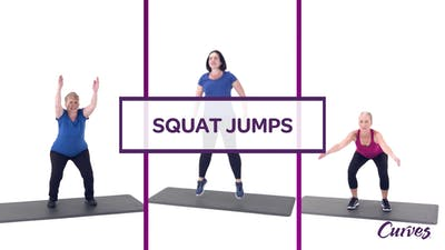 CHALLENGE: SQUAT JUMPS by MyCurves On Demand