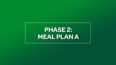 NUTRITION: PHASE 2 MEAL PLAN A by MyCurves On Demand