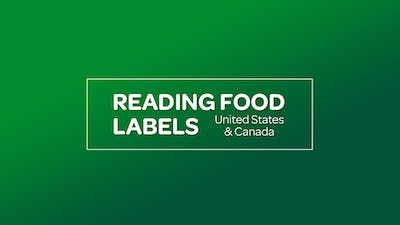 NUTRITION: READING FOOD LABELS [United States & Canada] by MyCurves On Demand