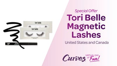 VDOF PRODUCTS: TORI BELLE MAGNETIC LASHES by MyCurves On Demand