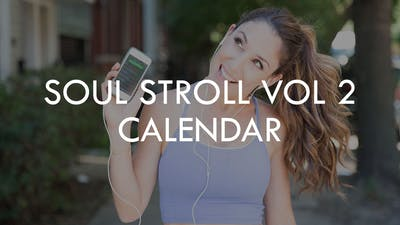[SOUL STROLL] Soul Stroll Vol. 2  Calendar by The Movement