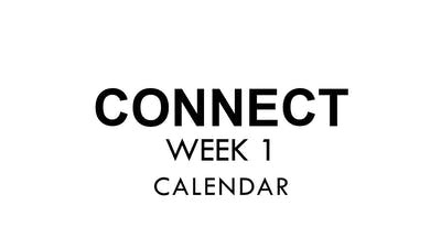 [CONNECT] Week 1 - Calendar by The Movement